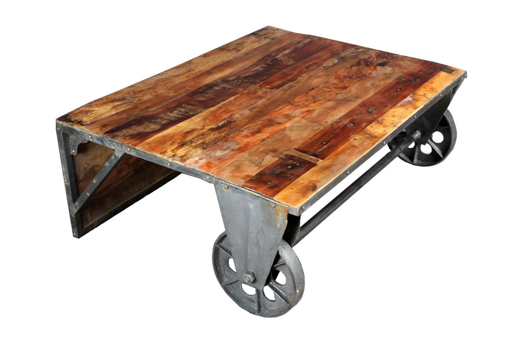 Convertible Cocktail Or Coffee Table Black Dog Salvage