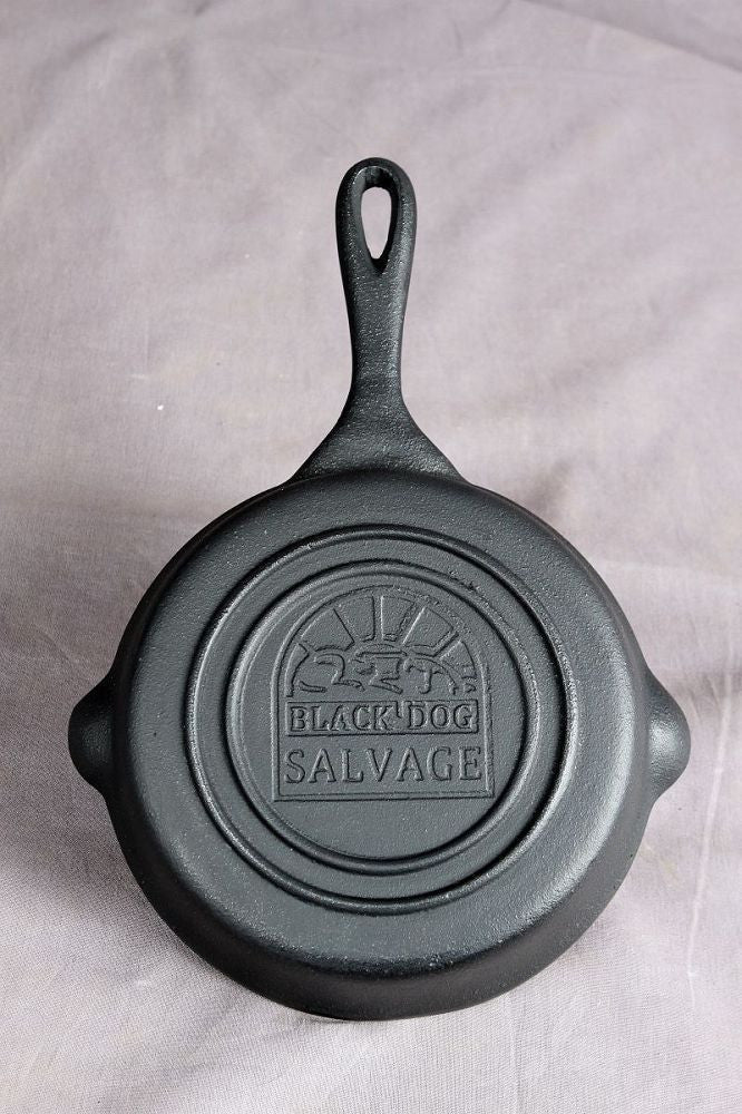 Black Dog Salvage Cast Iron Skillet - three sizes