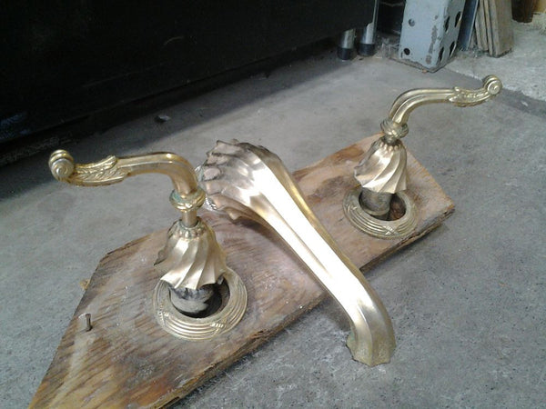 Faucet Set, Sherle Wagner, Tub