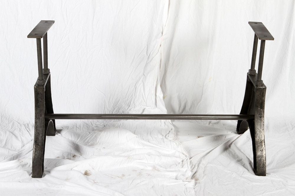 A Frame Metal Table Base