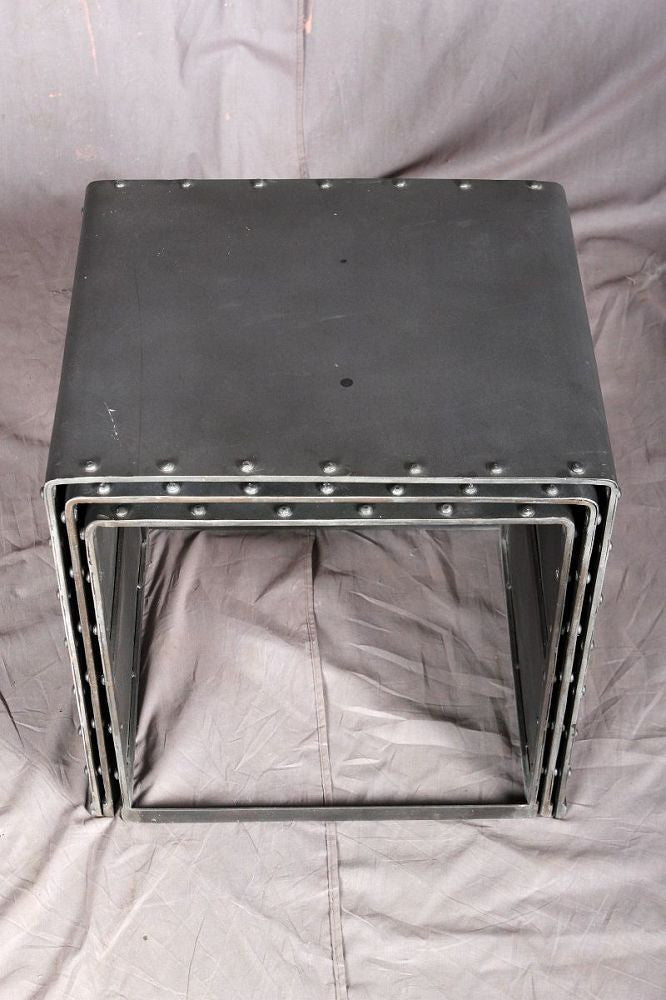 ... Metal Nesting Tables ...
