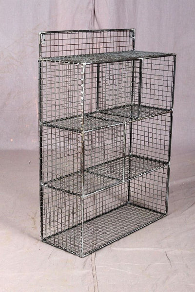 Metal Mesh Display Rack