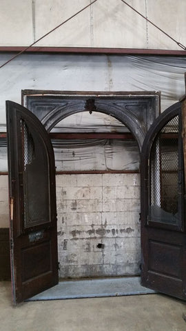 Arched Door, Double, Entry