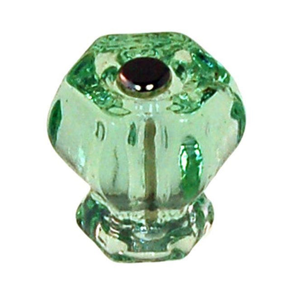 Hexagonal Glass Cabinet Knobs
