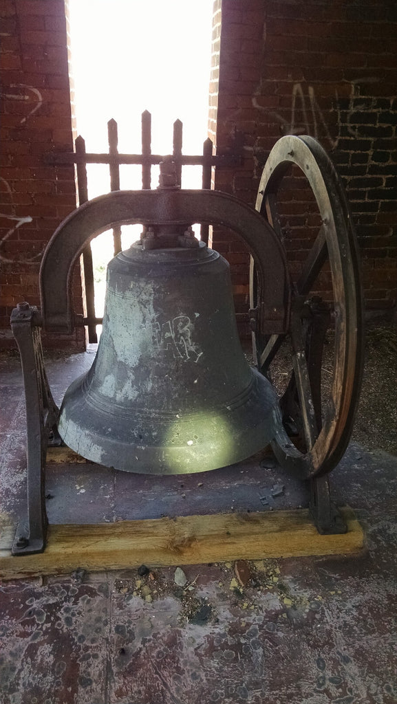 Large Antique School Bell made by H.Y. Stucksted B.F.G. Company - circa 1903