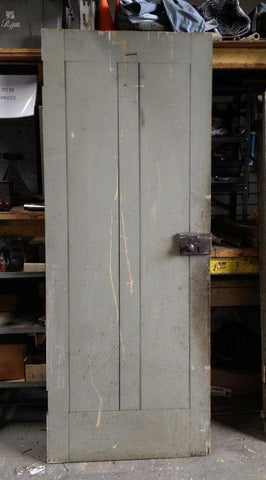 2 Panel Door with Carpenter Lock ... : door salvage - pezcame.com