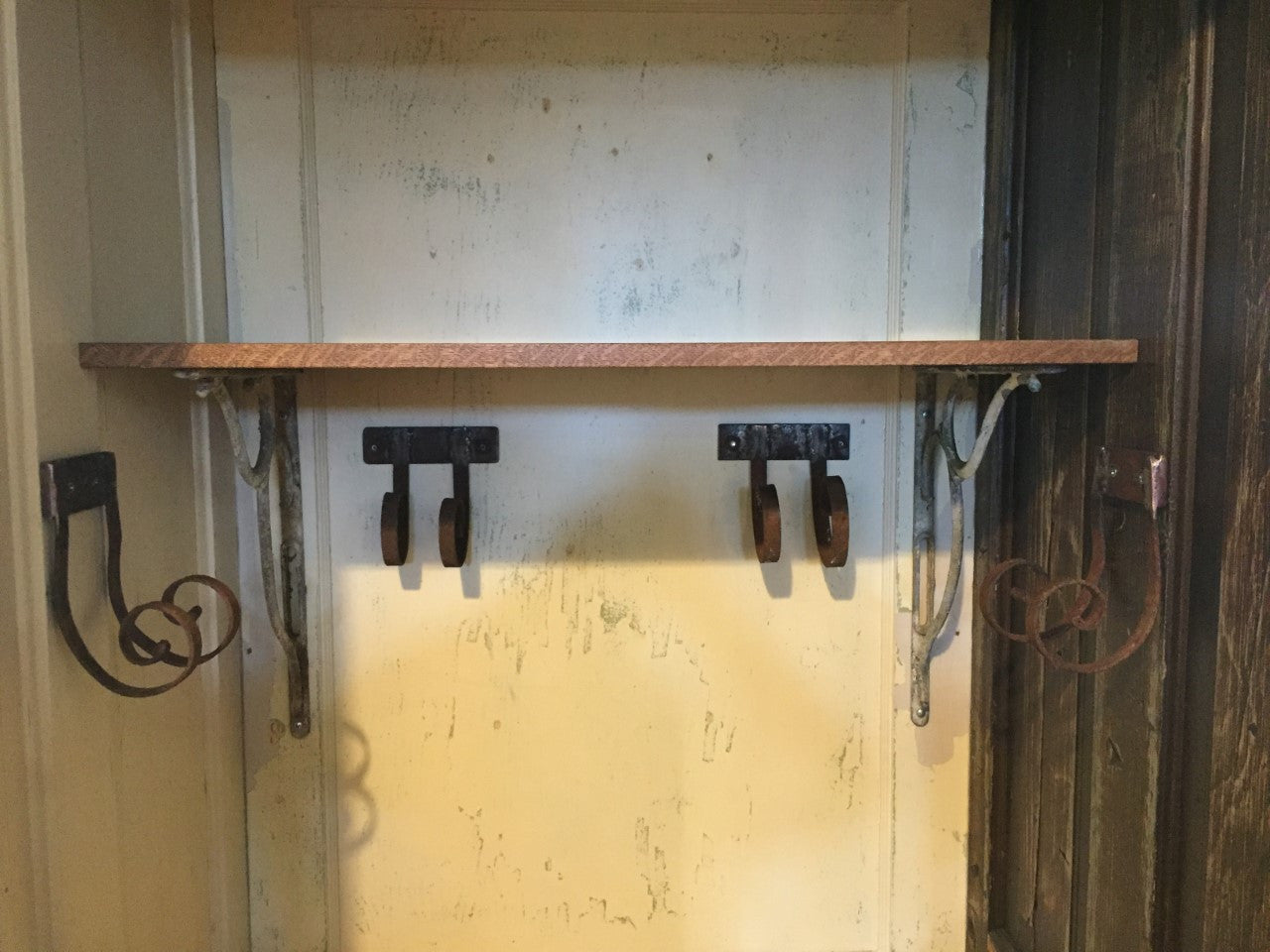 ... Salvaged Door Tool Shed ...