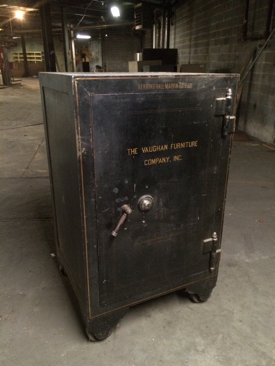 ... Antique Safe By Herring Hall Marvin Company ...