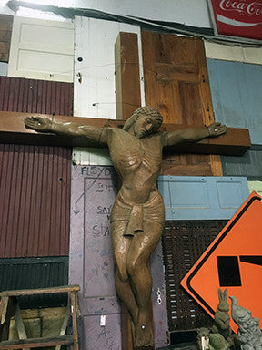 Hand Carved Crucifix