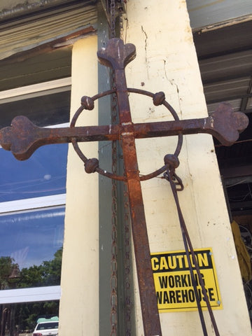 "9' 3"" x 42"" Iron Cross"