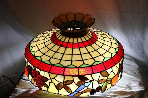Pendant, Stained Glass Shade