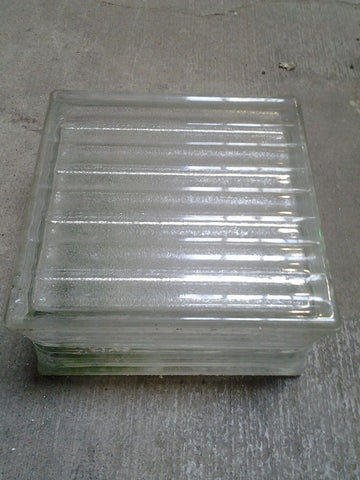 "Glass Block, 7.75""W"
