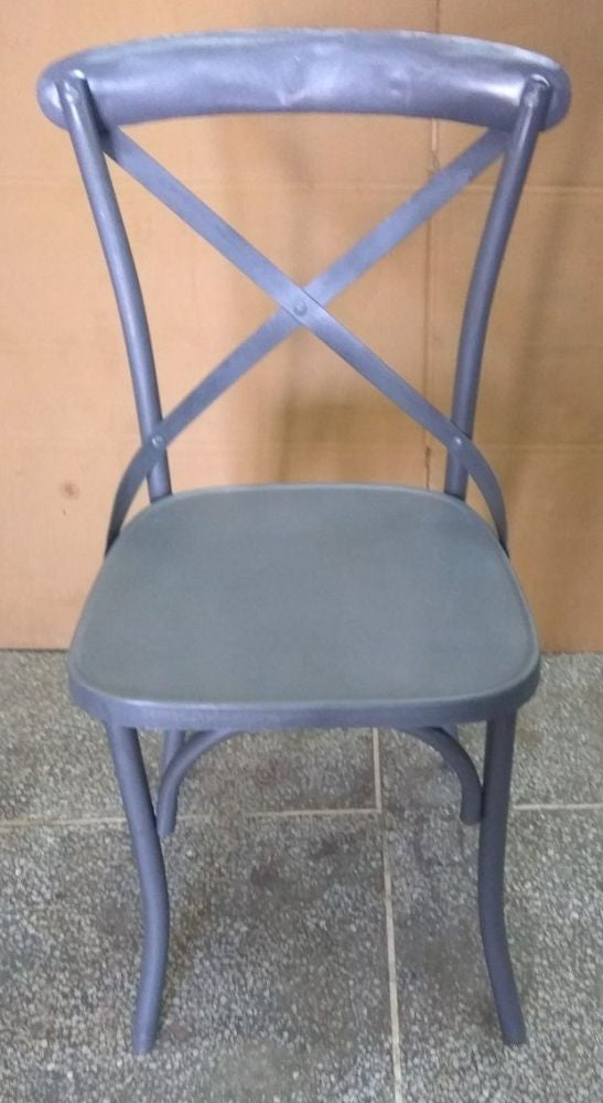 Industrial Metal Dining Chair