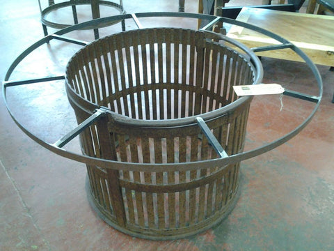 Canning Basket Table Base