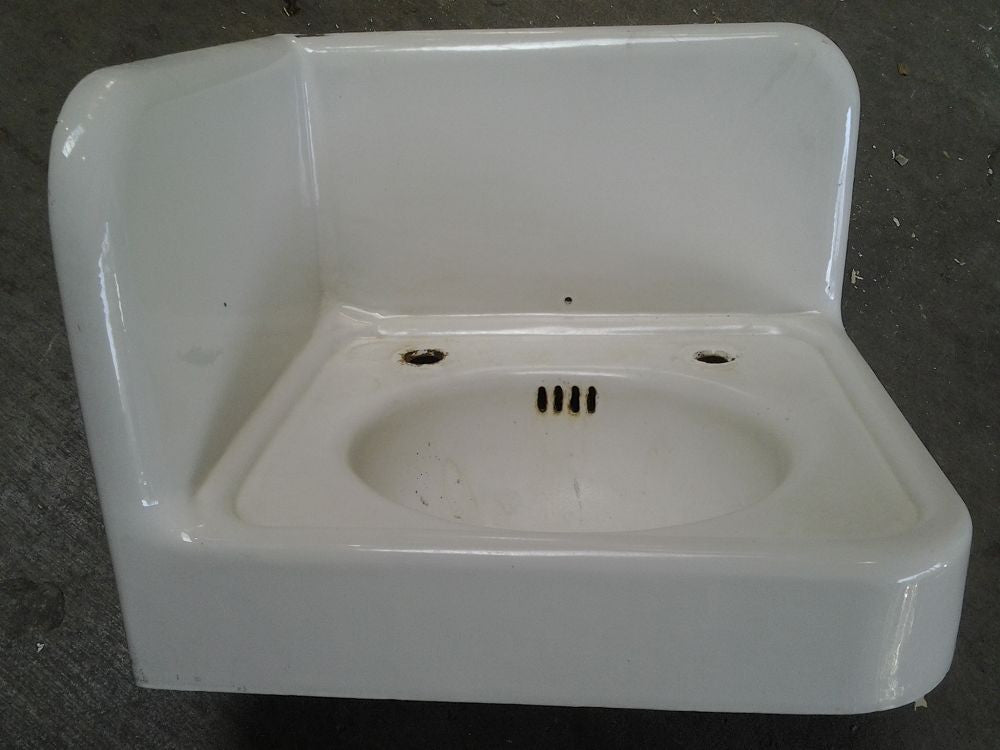 Corner Sink, Cast Iron #9260