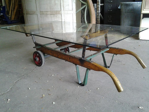 Coffee Table, Two Wheeler