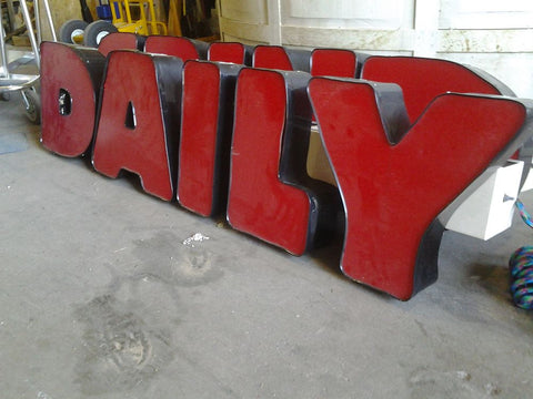 """Daily"" Sign"