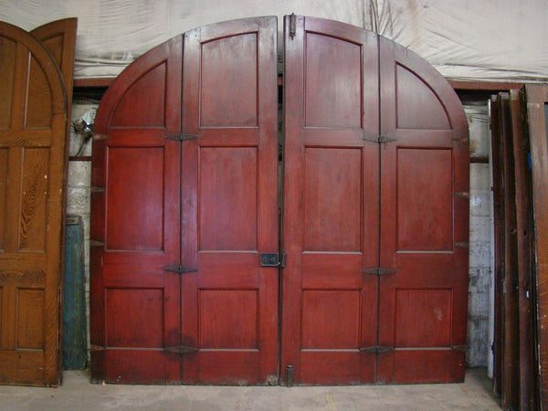Arched Doors Double Bi-Fold & The Door Room - Black Dog Salvage pezcame.com