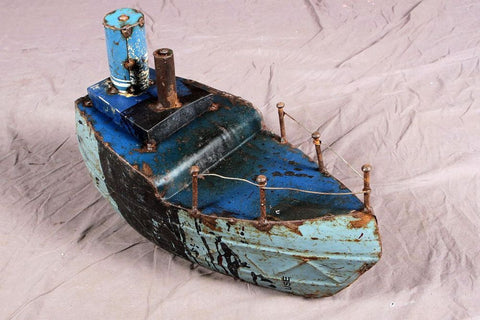 Decorative Iron Ship
