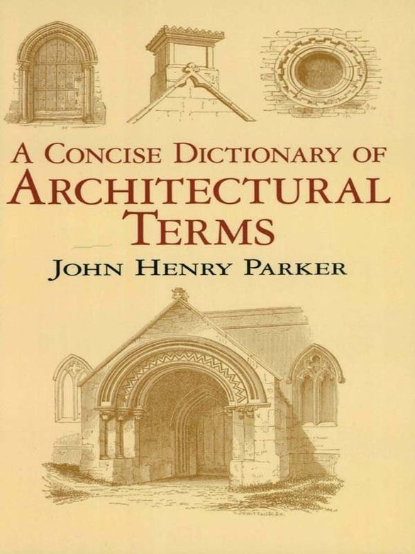 Book, A Concise Dictionary of Architectural Terms