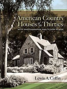 Book, American Country Houses of the Thirties