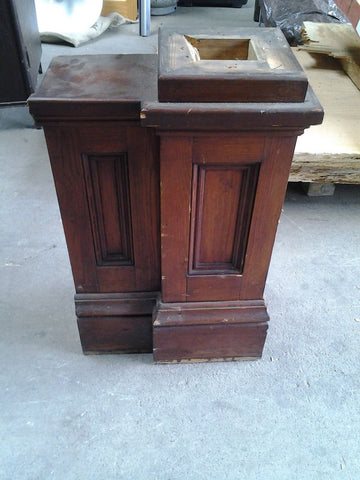 "Newel Post, 2'2"" Tall"