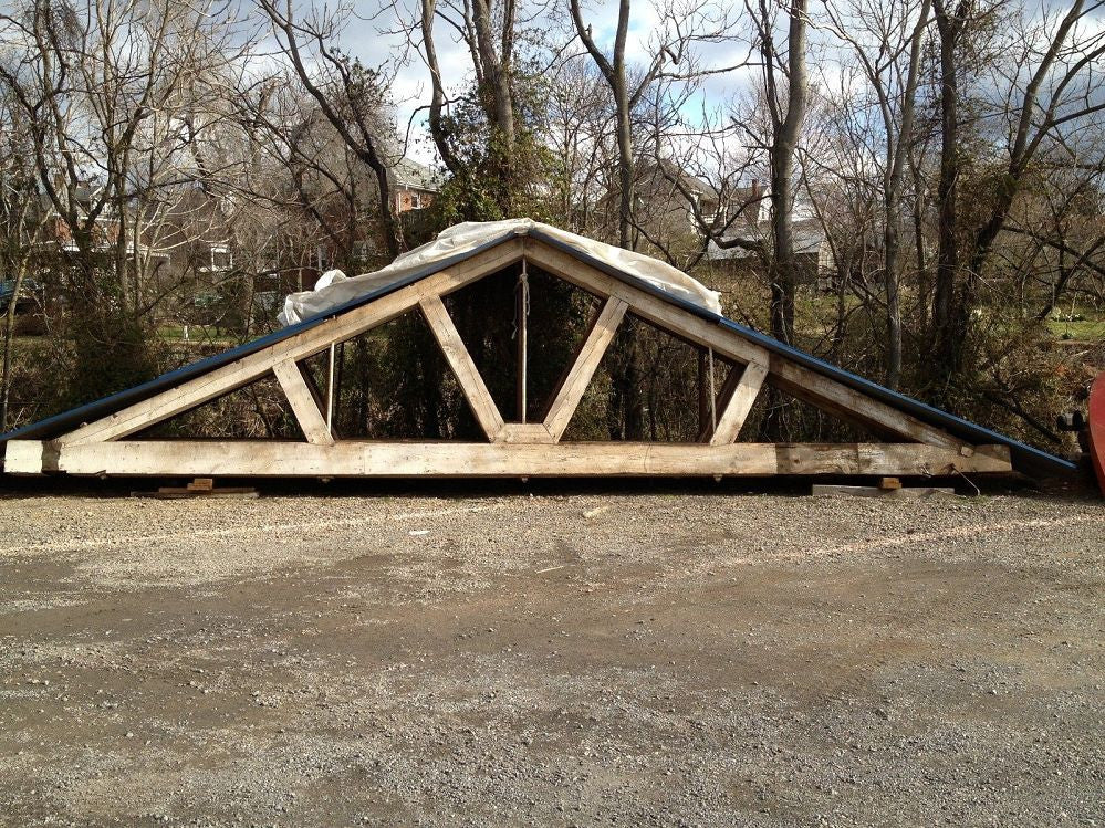 Antique Roof Trusses (set of 4)