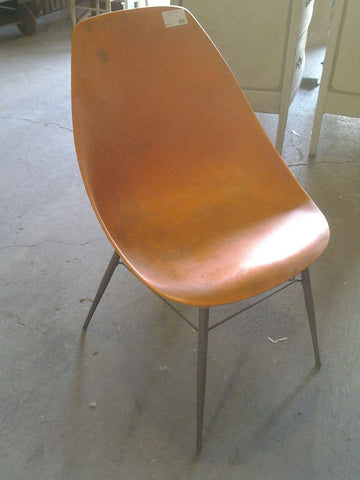 Vintage Chair, Orange