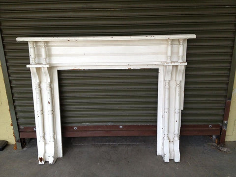 Mantel, White, Painted, #2946