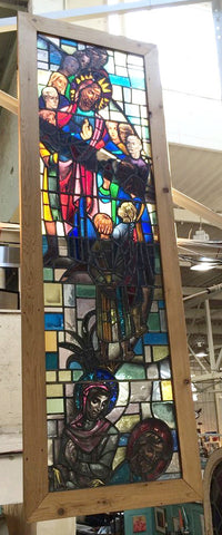 Stained Glass, Religious, #3479