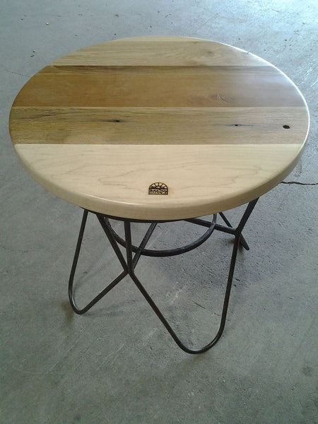 Drop Top Table, Hairpin Base