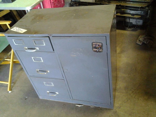Filing Cabinet, Steel, 3 Drawer