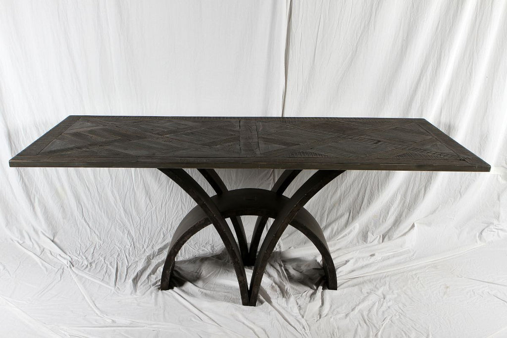 Contemporary Metal Table Base