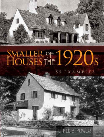 Book, Smaller Houses of the 1920s