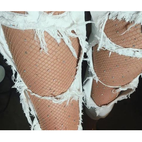 Buy Crystal Nude Fishnets for £11.99