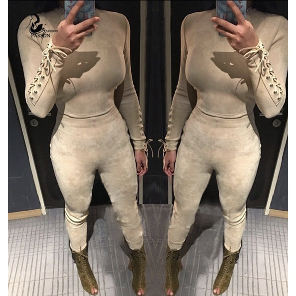 Buy Beige Suede 2 Piece for £34.99