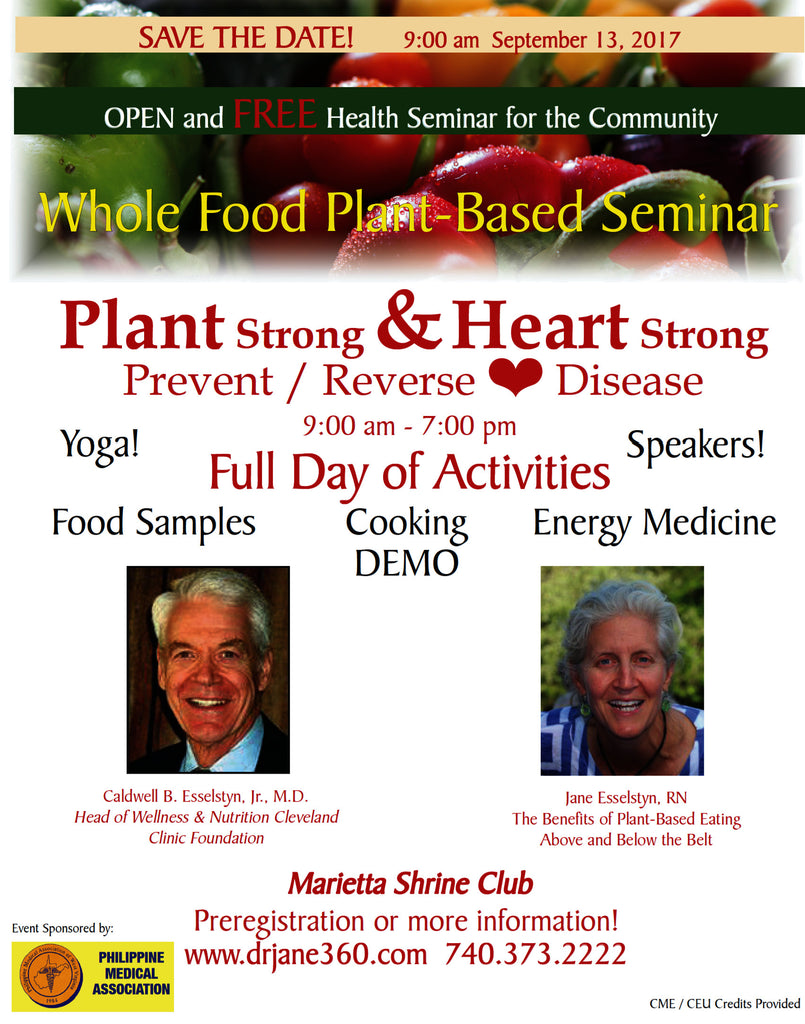 Whole Food Plant-Based Seminar