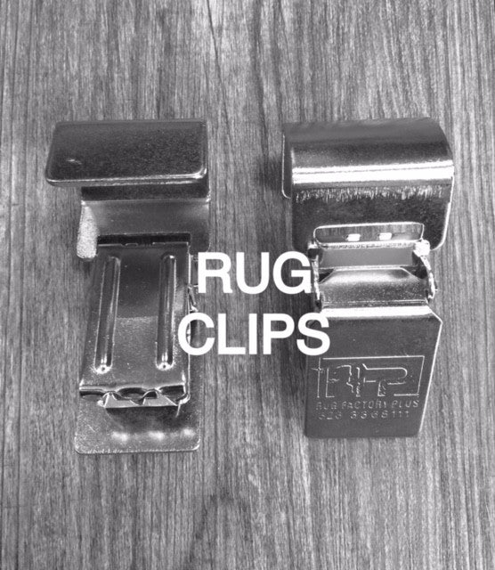 Rug clips