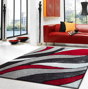 Vibrant Hand Tufted Modern Shag Lola 16 Area Rug by Rug Factory Plus