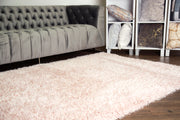 "Marble Shag Appx. 3"" Pile Polyester Area Rug by Rug Factory Plus"