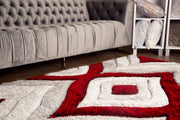 Sorrento 721 Shag Area Rug by Rug Factory Plus