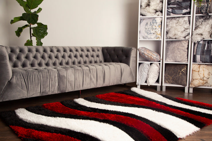 Sorrento 725 Shag Area Rug by Rug Factory Plus