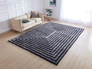 Soft Three Dimensional Polyester Viscose Hand Tufted 3D 305 Shag Area Rug by Rug Factory Plus - Rug Factory Plus
