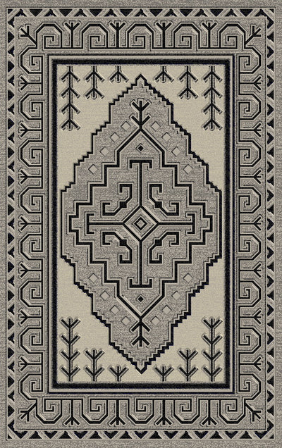 Durable Flat Weave No Shedding Lifestyle 671 Area Rug by Rug Factory Plus