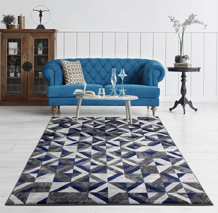 Durable Flat Weave No Shedding Lifestyle 701 Area Rug by Rug Factory Plus - Rug Factory Plus