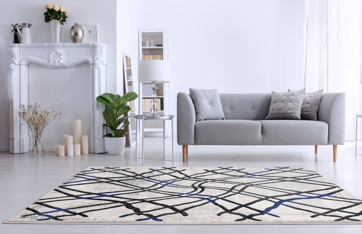 Durable Flat Weave No Shedding Lifestyle 801 Area Rug by Rug Factory Plus - Rug Factory Plus
