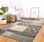 "Heavy Durable Plush Appx. 1"" Luxury Pile Alonzo AL 206 Area Rug by Rug Factory Plus - Rug Factory Plus"