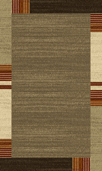 "Heavy Durable Plush Appx. 1"" Luxury Pile Alonzo AL 211 Area Rug by Rug Factory Plus - Rug Factory Plus"