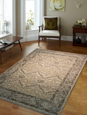 "Heavy Durable Plush Appx. 1"" Luxury Pile Alonzo AL 212 Area Rug by Rug Factory Plus - Rug Factory Plus"