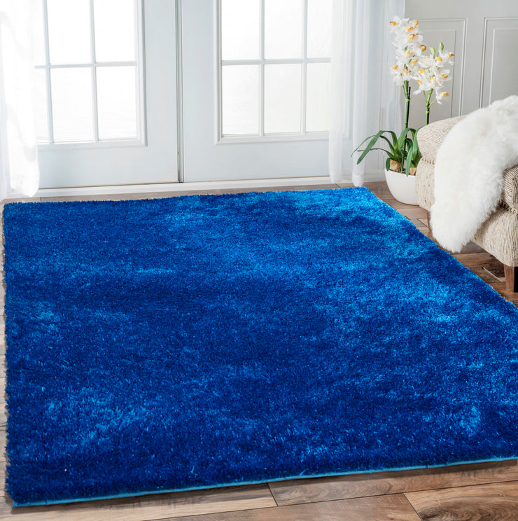 Soft Handmade Vibrant Plush Modern Amore Shag Area Rugs by Rug Factory Plus - Rug Factory Plus